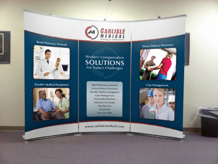 Trade Show Booth Design For Mobile AL Company